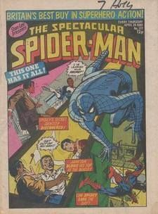 The Spectacular Spider-Man Weekly No 372 / 1980  £1.00