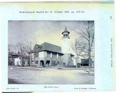 "Lake Forest City Hall: ""Lake Forest Town Hall"" :: Lake Forest Library Archives"