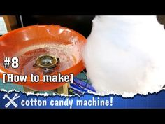 DIY cotton candy machine! Step by step instruction