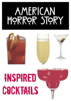 American Horror Story Inspired Cocktails » Style on MainStyle on Main