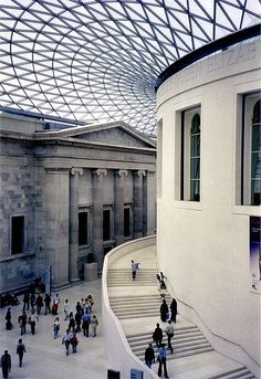 British Museum courtyard, by Sir Norman Foster