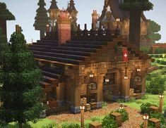 Minecraft Kingdom, Minecraft Castle, Minecraft Medieval, Cute Minecraft Houses, Minecraft Room, Minecraft Tips, Minecraft Blueprints, Minecraft Crafts, Minecraft Buildings