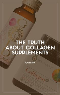 Everything you need to know about eating (and drinking) collagen for better skin. // #Skincare