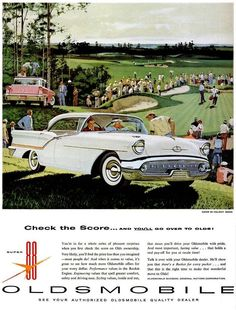 1957 Oldsmobile Super 88 Holiday Sedan