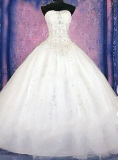 Material:Tulle|Embellishments:Beading,Pleats Wedding Bridesmaid Dresses, Bridal Dresses, Wedding Processional Order, Beautiful Long Dresses, Bridal And Formal, Gowns Of Elegance, Ball Gown Dresses, Marie, Quinceanera
