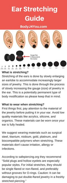 All you need to know about ear stretching. these ear stretching tips will inform. - All you need to know about ear stretching. these ear stretching tips will inform you on what to wea - Body Piercings, Piercing Tattoo, Cartilage Piercings, Cartilage Earrings, Snug Piercing, Tongue Piercings, Gages For Ears, Plugs For Ears, Stretched Ear Lobes
