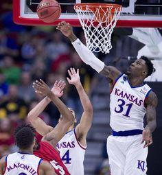 No letdown here: KU basketball takes care of Austin Peay in NCAA . Kansas Jayhawks Basketball, Ku Basketball, Football, College Hoops, Lacrosse, Sports, Soccer, Hs Sports, Futbol