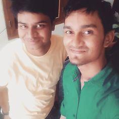 Met with Neeraj #dost ka #dost to apna #friend #happy #friendship day