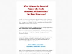 ① Ebook: New, Proven Way To Make Investment And Trading Decisions - http://www.vnulab.be/lab-review/%e2%91%a0-ebook-new-proven-way-to-make-investment-and-trading-decisions