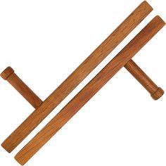 Custom Tonfa Made From Morado Wood By Torii Wood Weapons