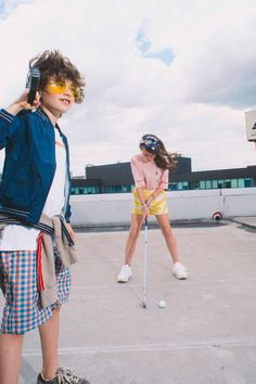 SUMMER '18 KIDS COLLECTION | The Office - Kids are taking over the Bellerose office -Rooftop