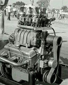 Old blown engine