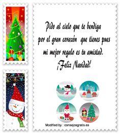 carta para enviar en Navidad,descargar mensajes para enviar en Navidad: http://www.consejosgratis.es/frases-y-mensajes-de-navidad/