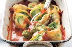 18x zapečené těstoviny | Apetitonline.cz Ricotta, Mozzarella, Guacamole, Salsa, Mexican, Ethnic Recipes, Food, Essen, Salsa Music