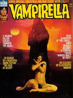 Classic+Comic+Book+vampirelli | Vampirella #40 horror comic magazine from Warren Publishing