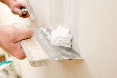 How To Fix Uneven or Damaged Drywall With a Skim Coat http://www.painttalk.com/articles/2014/07/how-to-fix-uneven-or-damaged-drywall-with-a-skim-coat/