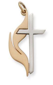 United Methodist Cross: James Avery