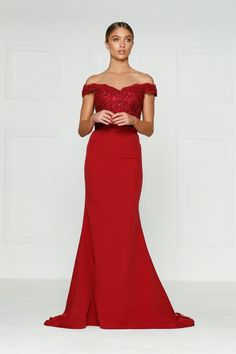 a3cb1fe44f A amp N Luxe Label Sandy gown Women s wine red prom dress size 4 brand new