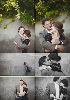 engagement poses.