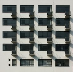 #Bauhaus #Balconies