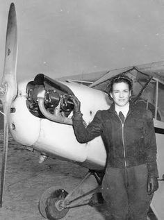 Margaret Ray Ringenberg's story is fascinating. So much so, she has a page at the Library of Congress. From Leo, #Indiana, she was one of the initial members of the 201st Composite Squadron Civil Air Patrol US Air Force Aux The Civil Air Patrol helped her learn to fly. She would take those skills and become a WASP ferrying airplanes during the war. At 72, she flew around the world.
