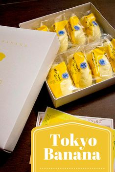 Tokyo Banana: the only souvenir you'll need to know for Tokyo.