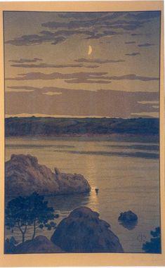 Henri Rivière - Clair de Lune à Landmelus