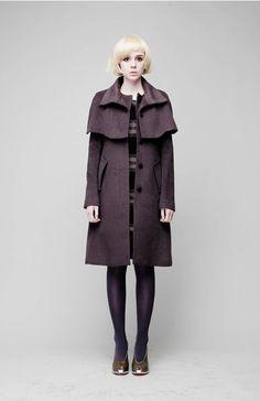 Minimal-GOTH MANTEL High-Grade Cashmere COAT by FreaksKIMTAEHOON