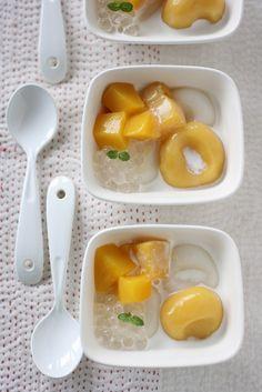 Mango Shiratama-dango   shiratama flour, mango puree, mango,…   Flickr