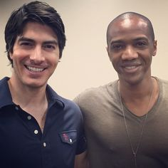 @brandonjrouth is a cool guy... #Atom #Deathlok || J August Richards || Instagram || #cast