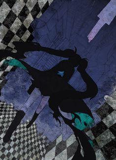 Black Rock Shooter #Anime #Illustration