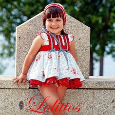 LOLITTOS PRIMAVERA/VERANO 2016 Instagram photo by @lolittos via ink361.com Girls Dresses, Flower Girl Dresses, Summer Dresses, Wedding Dresses, Instagram, Fashion, Summer, Summer Sundresses, Bridal Dresses