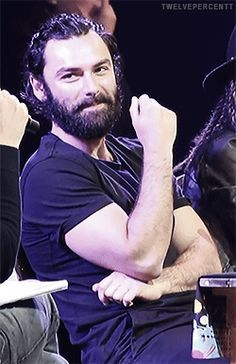 Now just look at this sexy beast! - Aidan Turner
