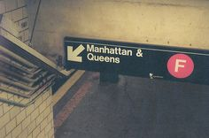 The F train... a love hate relationship when you can catch it!
