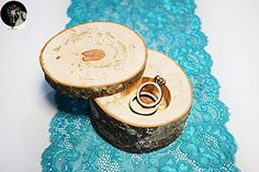 Proposal ring box - Rustic tree log ring box - Ring box - Natural wood ring box - Wedding ring box - Rustic ring box - Engagement ring box - Venue and reception decor (*Amazon Partner-Link)