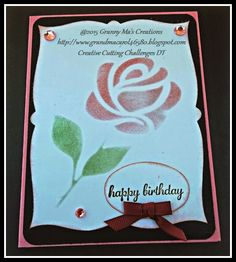 Challenge #51 Anything Goes | Granny Ma's Creative Blog
