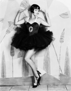 Louise Brooks in 'Now We're In The Air' 1927. Costume by Travis Banton. Photo by Eugene Robert Richee