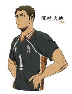 Daichi Sawamura, Daisuga, Haikyuu Karasuno, Kageyama, Haikyuu Ships, Haikyuu Fanart, Haikyuu Anime, Blue Exorcist, Haikyuu Characters