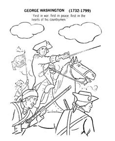 American Revolution Coloring Pages  Free printable Daniel Boone