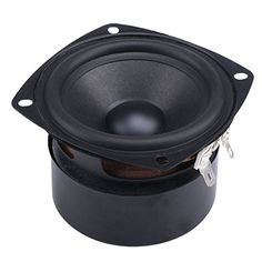 "DROK S 15W Mini 3"" HiFi Full Range Speaker 4 Ohm Anti-mag..."