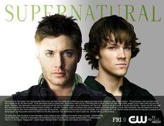 Supernatural 11x14 TV Poster (2005)
