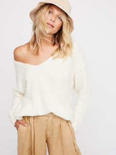 Lofty V-Neck Sweater from Free People!