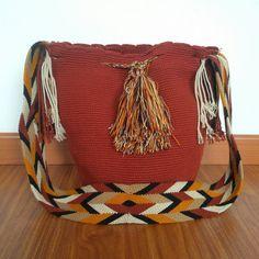 Buy your beautiful, unique #Wayuu #mochila bag now from my ebay store! Find your perfect Summer bag, all the way from #Colombia :)  Wayuu Mochila - Summer bag - Tribal Bag - Boho Bag - Beach Bag
