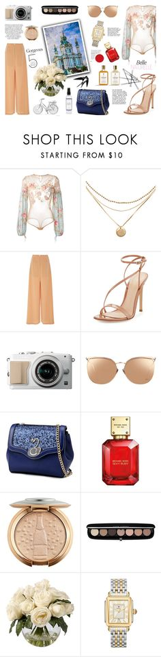 """""""KIEV BY DAY"""" by mer084 ❤ liked on Polyvore featuring Amen, Adeam, Gianvito Rossi, Linda Farrow, Michael Kors, Marc Jacobs, Frontgate, Michele, Whiteley and Miu Miu"""