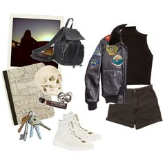 """lets ride."" by rileighcunningham on Polyvore"