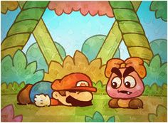 Paper Mario This Mustache. by Louivi on DeviantArt Super Mario Smash, Super Mario Bros, Mario Bros., Mario And Luigi, Paper Mario 64, Deviantart Comic, Deco Gamer, Mario Comics, Inside Games