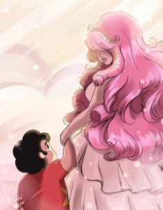 Steven Universe: Mother and Son by Rice-Lily on DeviantArt