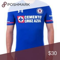 CRUZ AZUL BLUE HOME JERSEY 2017-2018 This a brand new cruz azul jersey 2017-2018  Prices are firm, you only get discount by adding 3 jerseys to your bundle. Other