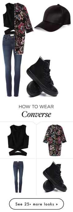 """""""Unbenannt #394"""" by glamand on Polyvore featuring Frame Denim, Alena Akhmadullina, River Island and Converse"""