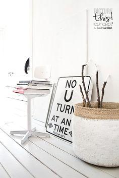 © Paulina Arcklin | DIY basket on my blog